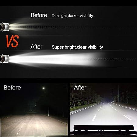 Safego C126wcb 18s 50 8 Cm Zoll 126 W Led Light Bar Beam Bumber Dach Fahren Nebelscheinwerfer Auto