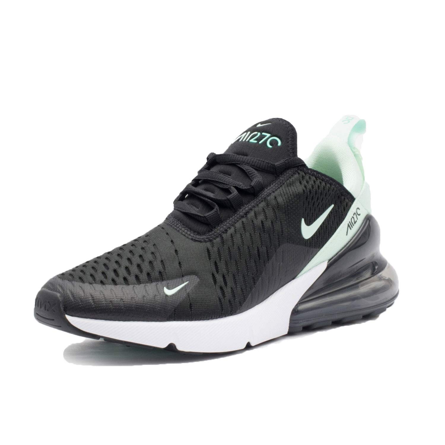 new concept 7d763 b8d78 Nike W Air Max 270 Women Shoes, Trainers, Black Iglo-Hyper Turq-White, 3  UK  Amazon.co.uk  Sports   Outdoors