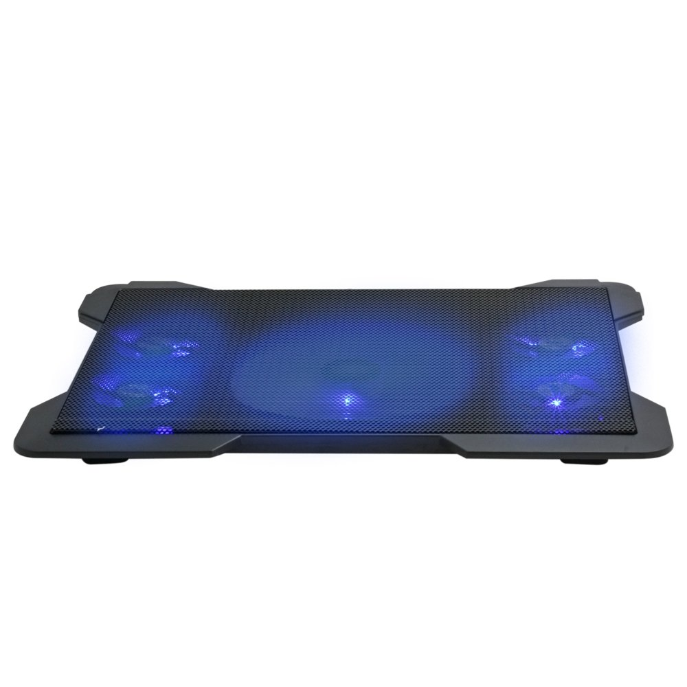 Woxter Notebook Cooling Pad 1560 R - Base refrigeradora con 5 ventiladores, Universal, para Portátiles de 10-17