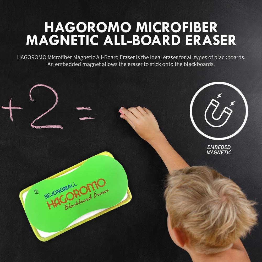 taglia media verde Hagoromo eraser di microfibra magnetico tutti Pensione