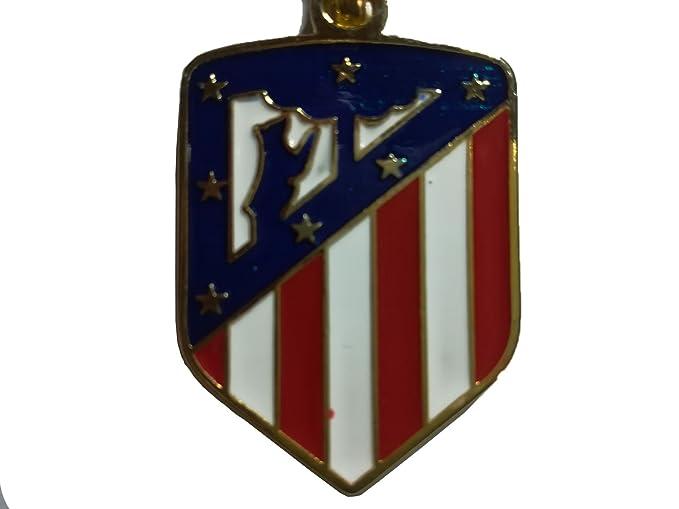 Atletico de Madrid Llavero nuevo escudo dorado .Producto oficial 2018