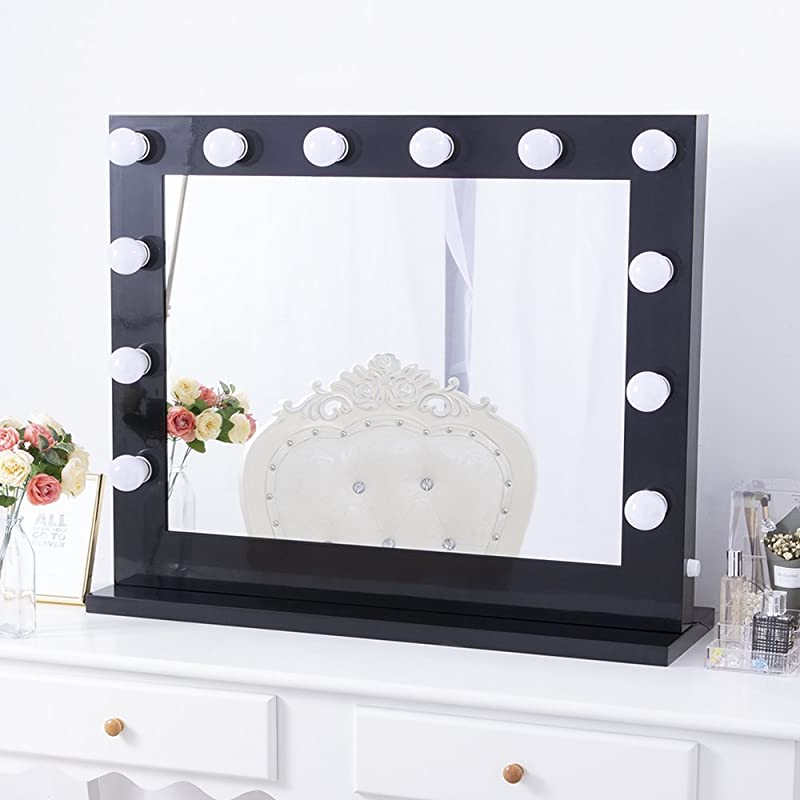 Chende Hollywood 8065 Lighted Vanity Makeup Mirror Reviews Summary
