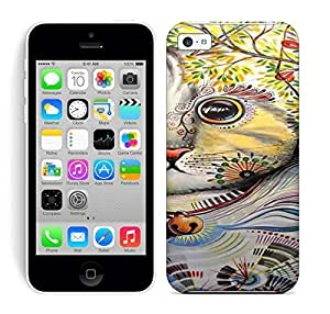 Best Power(Tm) HD Colorful Painted Watercolor Cat Art Painting Hard Phone Case For Iphone 5C