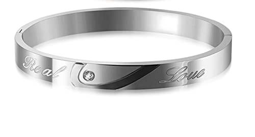 1c3a9c80414ef Amazon.com: AMDXD Jewelry Stainless Steel Chain Bracelet for Men ...