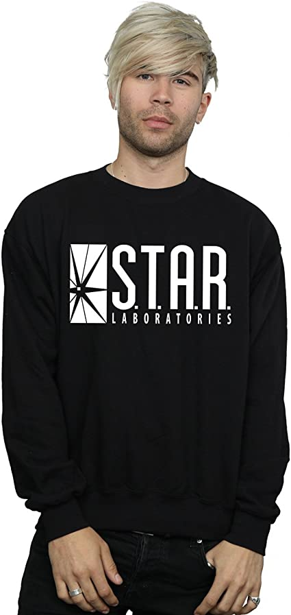 Star Laboratories Hoodie S-XXL Sizes Officially Licensed The Flash