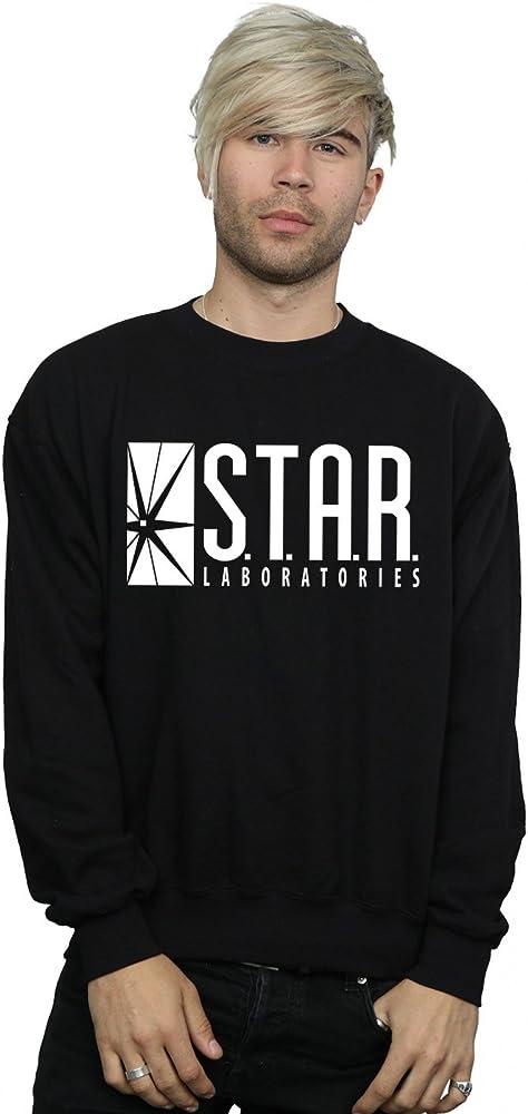 DC Comics hombre The Flash STAR Labs Camisa de entrenamiento Large Negro: Amazon.es: Deportes y aire libre