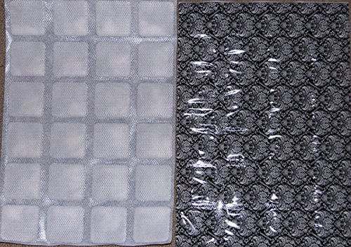 Price comparison product image ThermaFreeze BLACK ICE Select Edition Heavy Duty Reusable Ice Pack Sheets - 5 XL 10x15 inch sheets (4x6 cells each) - Superchilled Reusable, Flexible, Non-Toxic - Lasts hours longer than ice