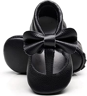 HONGTEYA Leather Baby Moccasins Shoes
