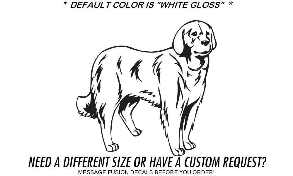 Amazon.com: Akbash Dog Puppy Breed Outdoor Vinyl Decal Sticker Black (Matte) 12