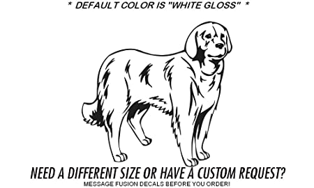Amazon.com: Akbash Dog Puppy Breed Outdoor Vinyl Decal Sticker Black (Matte) 12