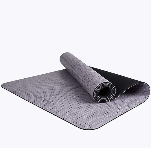 B-fengliu Colchonetas de Yoga, for Principiantes Manta de ...