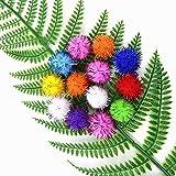TECH-P Arts& Crafts Pom Poms Sparkle Balls