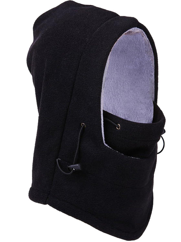 Bigood Mode Masken Hut Fleece Balaclava Mütze Skimaske Balaclava Beanie