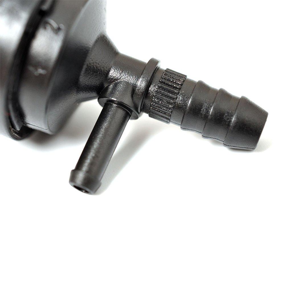 elegantstunning 1 St/ück Auto Vakuum-Luftpumpe R/ückschlagventil 058905291D 07C133529A 07C133 f/ür Audi Volkswagen schwarz