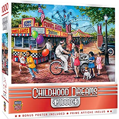 MasterPieces Childhood Dreams - Summer Carnival 1000-Piece Jigsaw Puzzle: Toys & Games