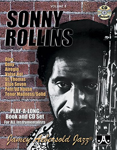 Vol. 8, Sonny Rollins (Book & CD Set) (Jazz Play-A-Long for All Instrumentalists)