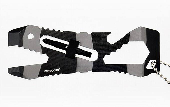 ZENDY herramienta de bolsillo multiusos al aire libre de ...