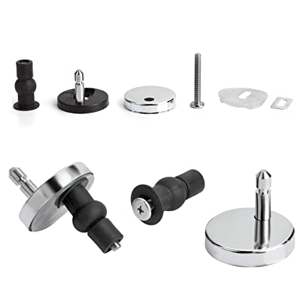 Admirable Yizhet 2 Full Set Fix Toilet Seat Fixings Top Fix Blind Hole Fitting Expanding Toilet Cover Bracket Accessories Toilet Seat Hinge Fittings Quick Ncnpc Chair Design For Home Ncnpcorg