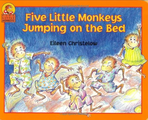 Five Little Monkeys Jumping on the Bed Board book – Mar 23 1998 Eileen Christelow HMH Books for Young Readers 0395900239 Children's poetry.