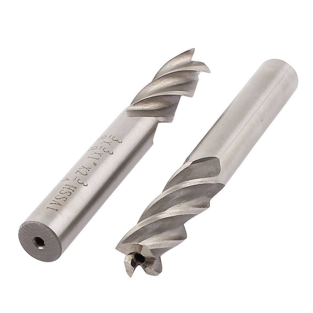 "3//8/"" SOLID CARBIDE FOUR 4 FLUTE END MILL CUTTER CUTTING BIT TOOLING MILLING"