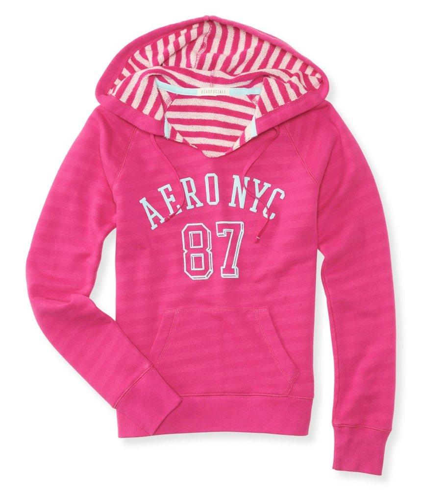 Aeropostale Womens Hooded Fleece Sweatshirt 587 M - Juniors by Aeropostale