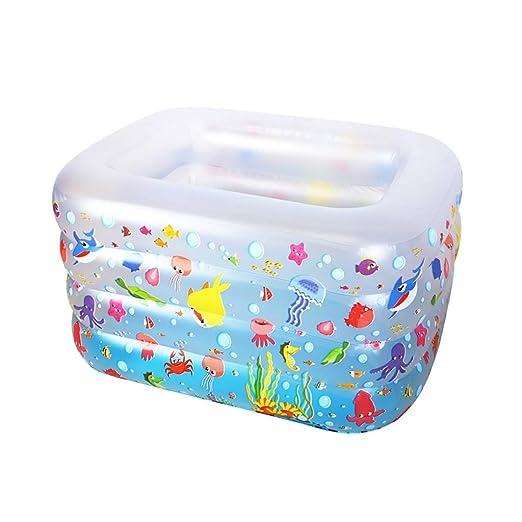 GYL - Piscina Hinchable portátil, fácil de Plegar, bañera ...