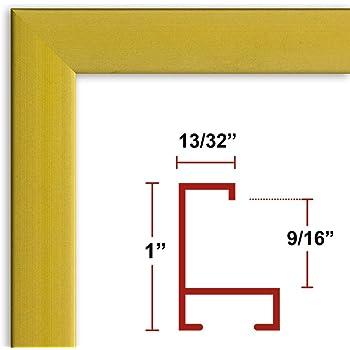 Amazon.com - 28 x 36 Poster Frame - Profile: #93 Satin Gold Custom ...
