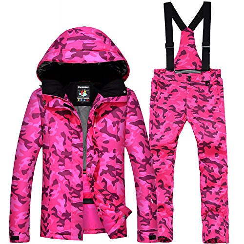 Ski Warm Red Waterproof FYM Thickened Coat DYF JACKETS Couple Suit L Jacket Women Men 7qrXPaq