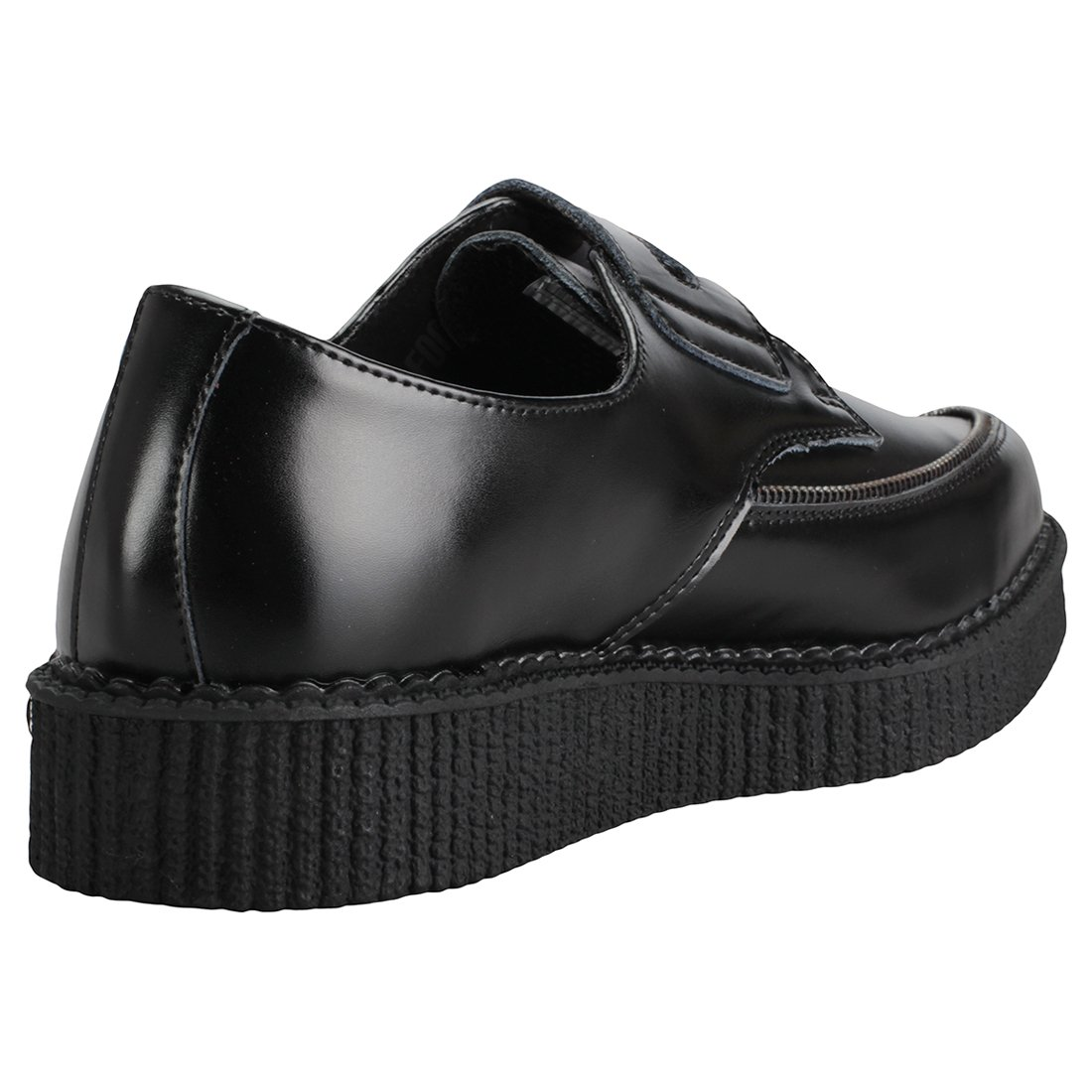 T.U.K. Pierced Zipper Pierced T.U.K. Pointed Creeper Herren Schuhe 9783c7