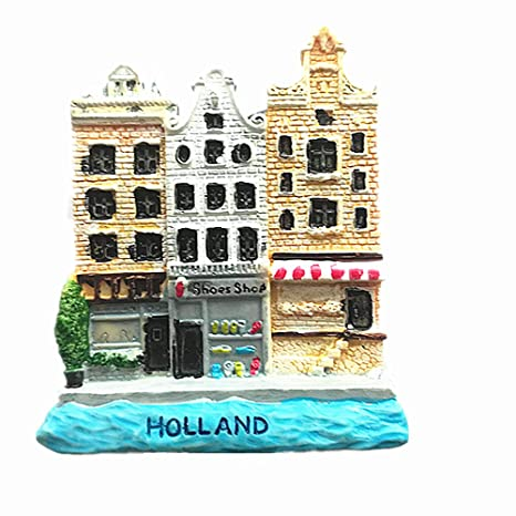 Jian Ai Imán para Nevera 3D Holland Holland Holanda Souvenir, imán ...