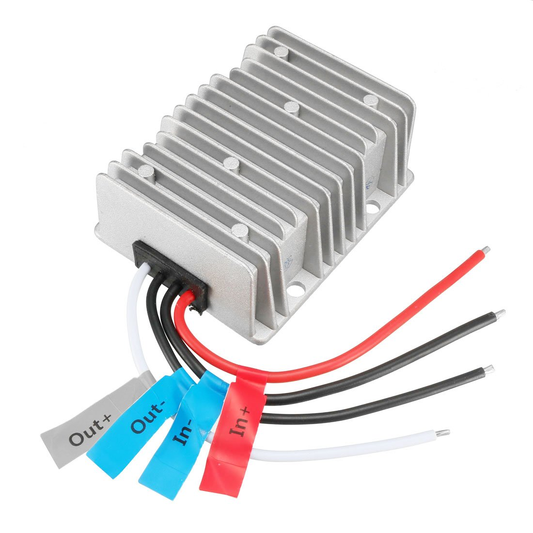 uxcell Voltage Converter Regulator DC/DC DC 12V Step-Up to DC 28V 15A 420W Power Boost Transformer Waterproof