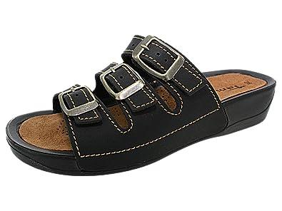mules confort tamaris 27500 noir, chaussures femme femme