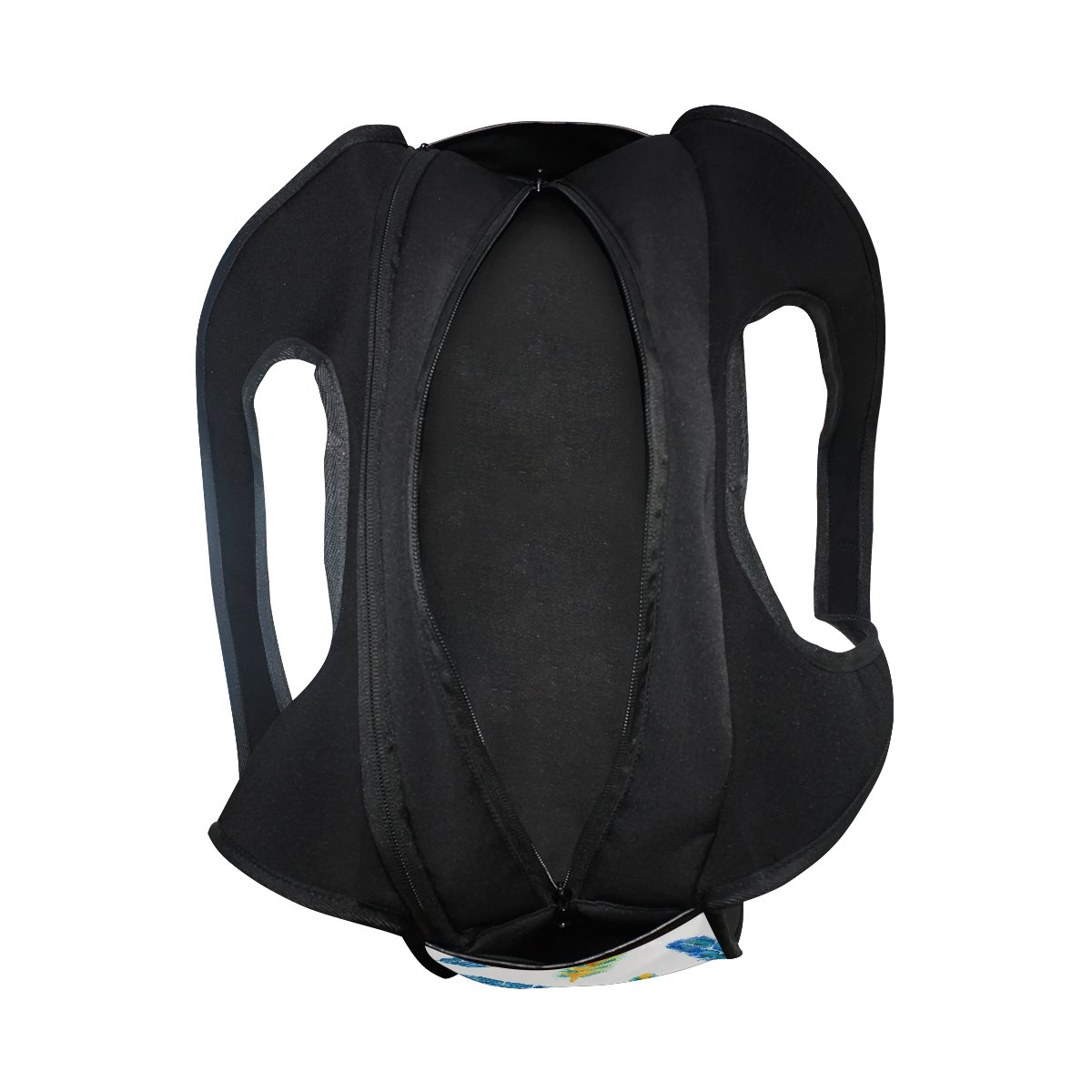 Sport Gym Bag Watercolor Feather Canvas Travel Duffel Bag