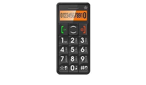 Amazon.com: TELFONO CELULAR DESBLOQUEADO JUST5 J509 color Black: Health & Personal Care