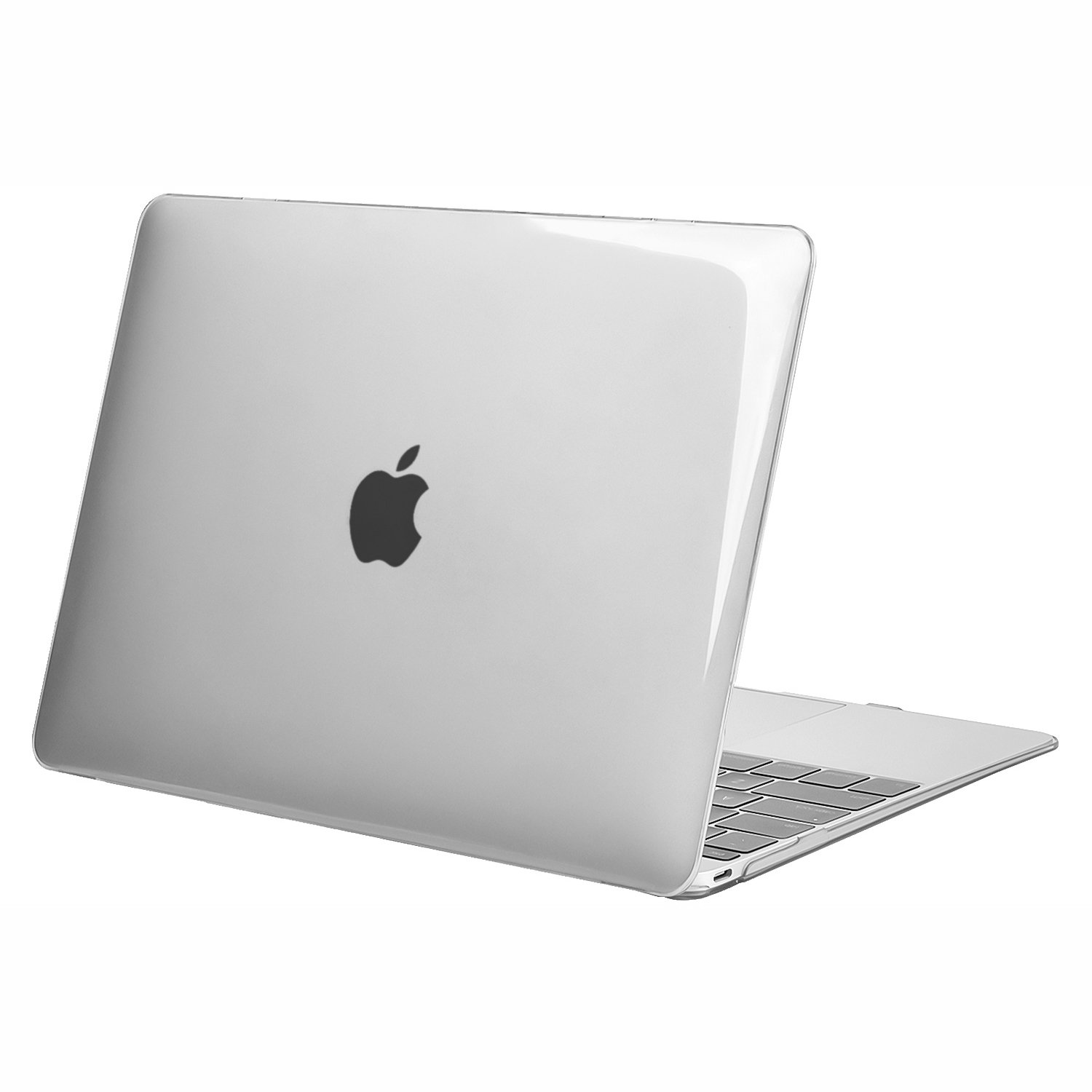 MOSISO Plastic Hard Shell Case Cover Compatible MacBook 12 Inch with Retina Display Model A1534 (Version 2017/2016/2015), Crystal Clear