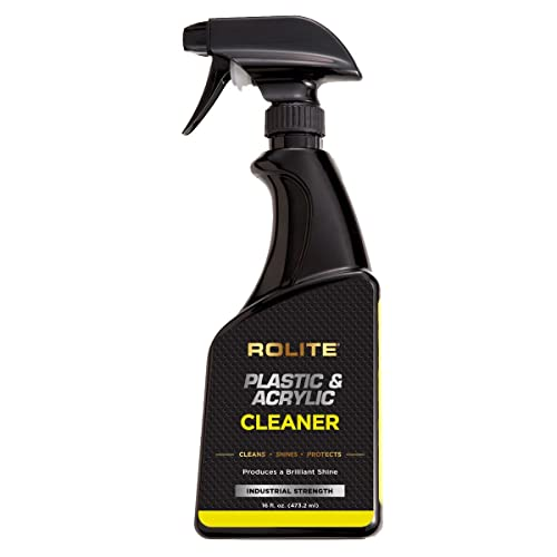 Rolite Plastic & Acrylic Cleaner For Motorcycle Windshields