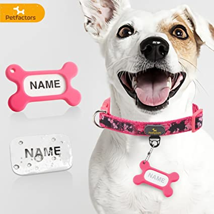 Amazon Petfactors Pet 10 Patterns Soft Fy Adjustable Dog. Petfactors Pet 10 Patterns Soft Fy Adjustable Dog Collar With Personalized Diy Tags. Wiring. Homemade Dog Harness Patterns At Scoala.co