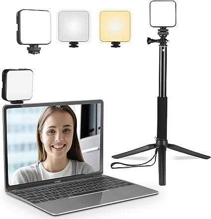Videokonferenz Beleuchtung Luowan Video Licht Mit Kamera