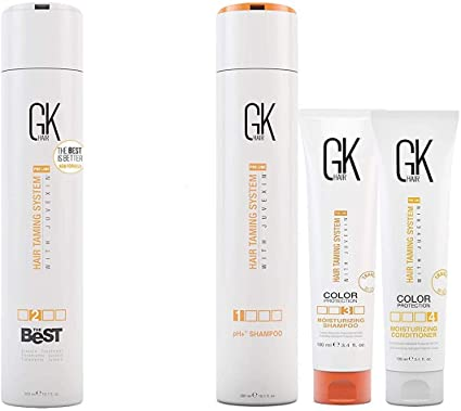 GKhair The Best Hair Smoothing Treatment 300ml with Complementary Application Kit 100ml