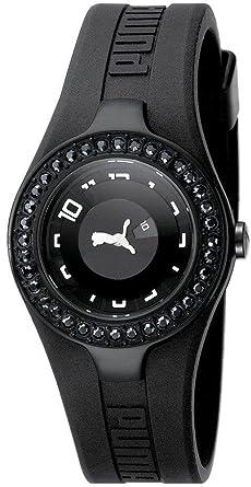 competitive price 7b9d9 89323 Amazon | PUMA (プーマ) 腕時計 DYNAMIC POSH ALL BLACK STONES ...