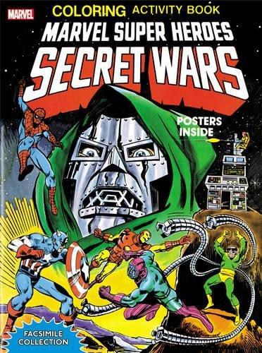 Marvel Super Heroes Secret Wars Activity Book Facsimile Edition (Activity Book Facsimile Collection) Paperback – Facsimile, May 12, 2015