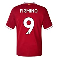 17/18 New Liverpool Home Firmino 9 Soccer Jersey Men's Red Size M