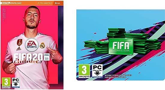 FIFA 20 (La caja contiene un código de descarga - Origin) - Edición Estándar + 1050 Puntos FIFA: Amazon.es: Videojuegos