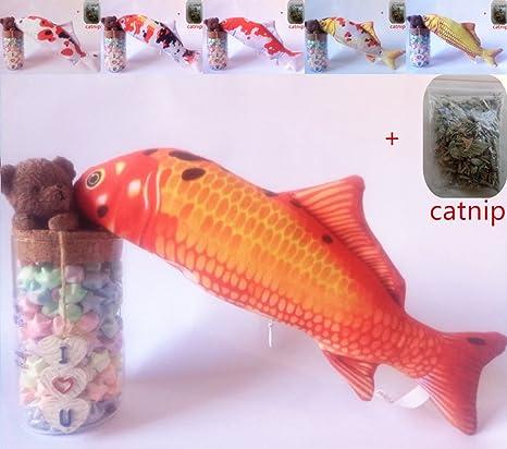Maibar juguete gatos pescado juguetes gatos 3D inteligencia mariposa gatos hierba gatera Interactivo para gatos de