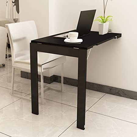 Drop-leaf Table Mesa de Escritorio Plegable para Ordenador ...