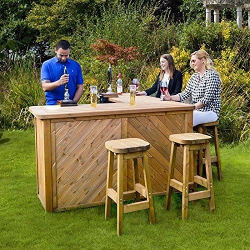 Anchor rápido jardín Bar y taburetes para exteriores y jardines ...