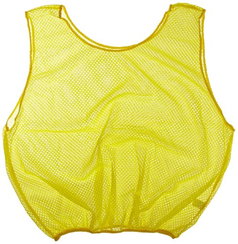 Sportime Mesh Scrimmage Vest - Adult Size - Yellow ()