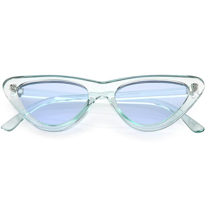 Amazon.com: sunglassla – Mujer Extreme translúcido ojo de ...