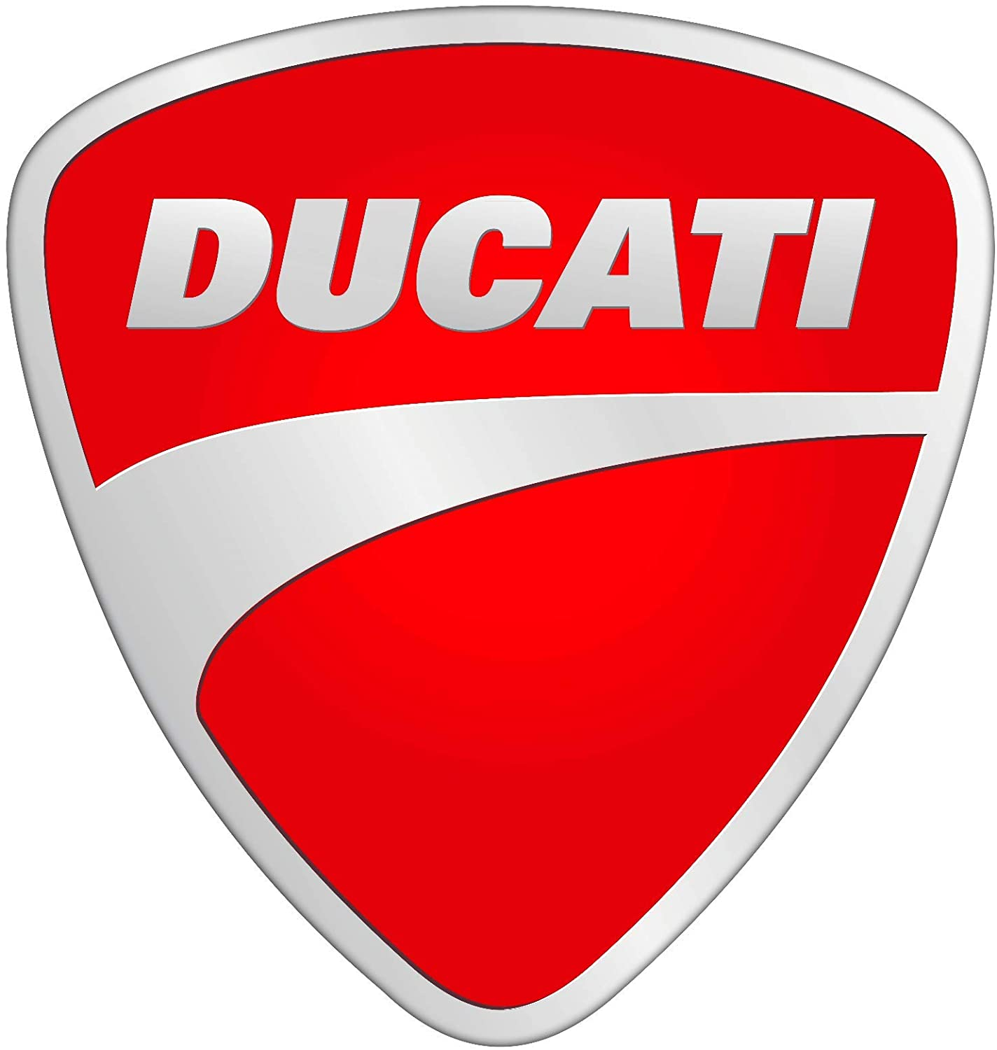 Ducati Parking Metallschild rot