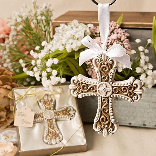 Vintage Cross (FavorOnline Stunning Vintage Design Cross Ornament, 96)